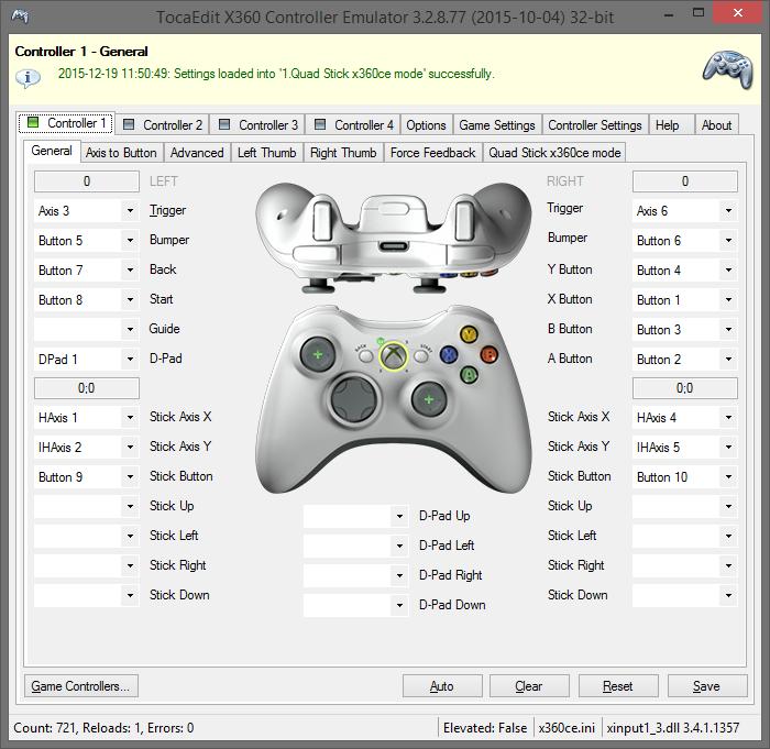 XBOX 360 Controller Emulator