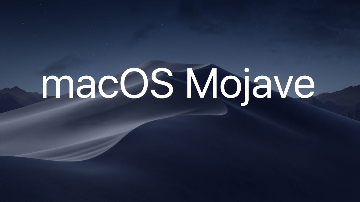 Пробуем новую macOS Mojave